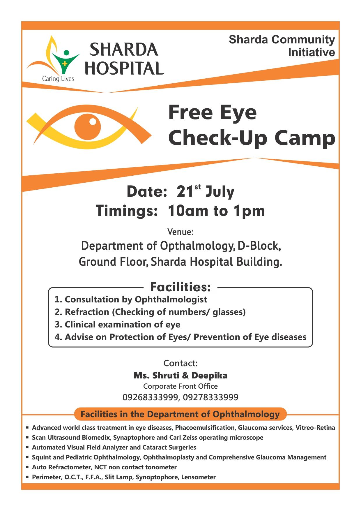 6c2bbc4f24e Free Eye Check Up