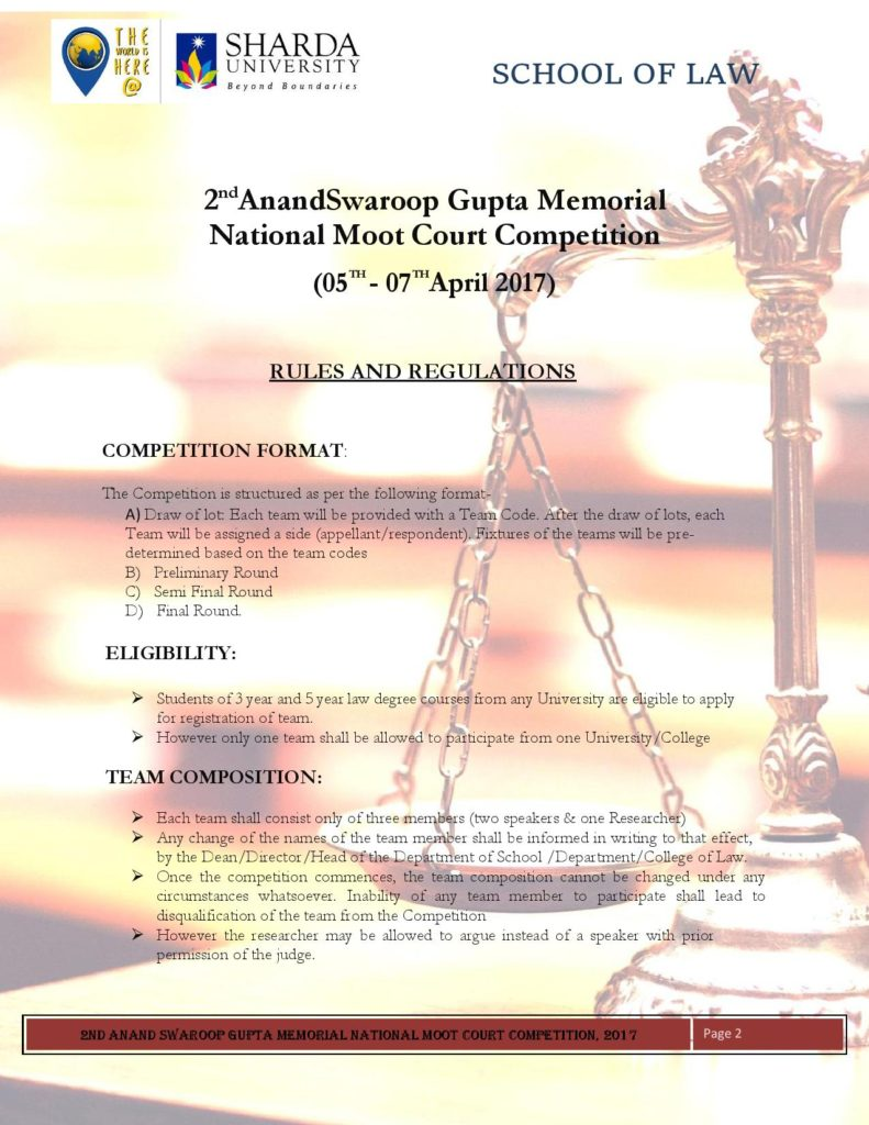 how to make memorial for moot court