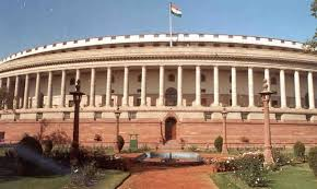 Parliament visit during winter session organized for Law students @ Parliament House, Delhi