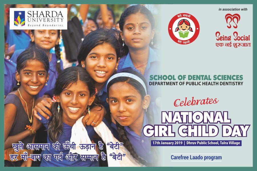 National Girl Child Day @ Druv Public Schooll