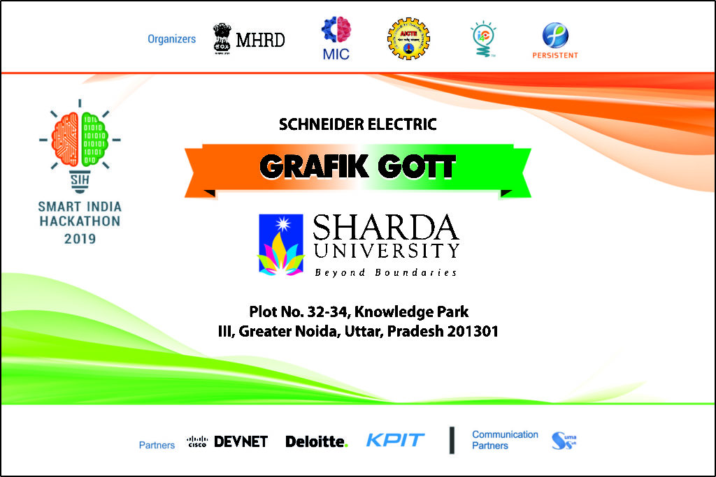 "Department of Computer Science & Engineering, SET student's and faculties are representing Sharda University in the ""Smart India Hackathon 2019"" , software edition organized by Ministry of HRD from March 1, 2019 – March 4,2019. @ B. V. Bhoomaraddi College of Engineering & Technology"