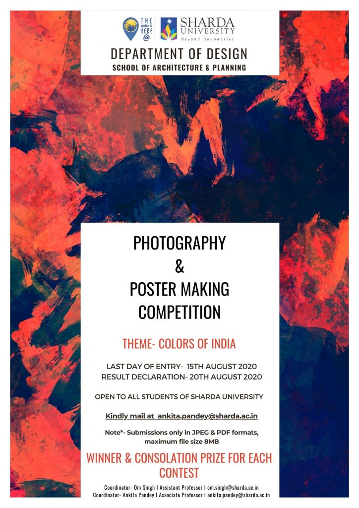 Photography & Poster making Competition @ Online