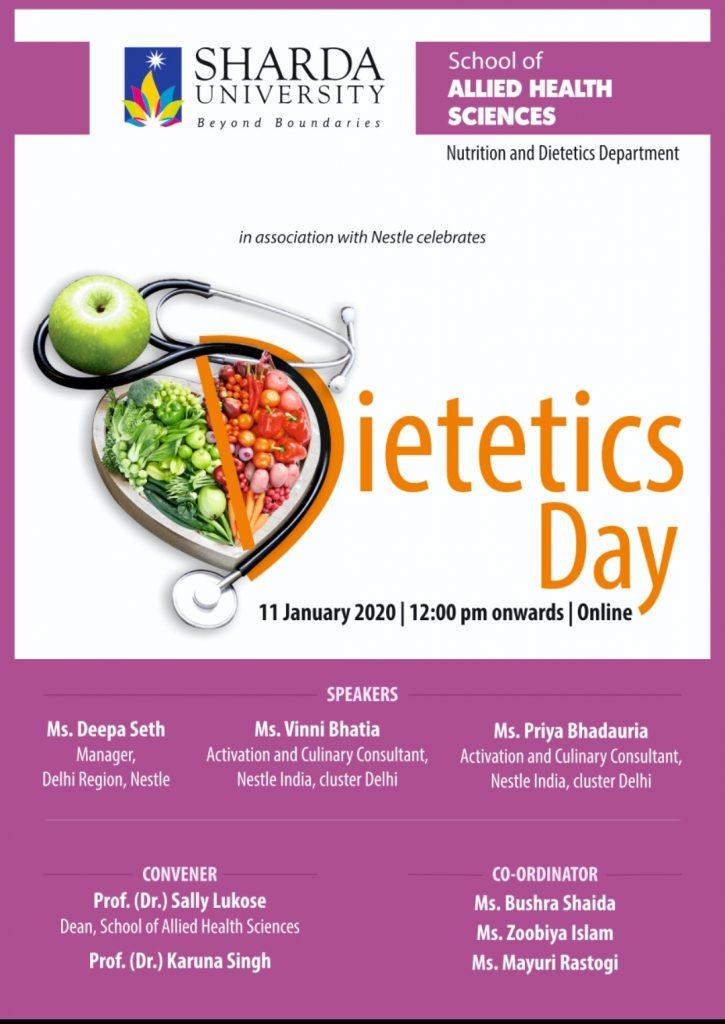 Dietetics day celebration in association with Nestle @ Online