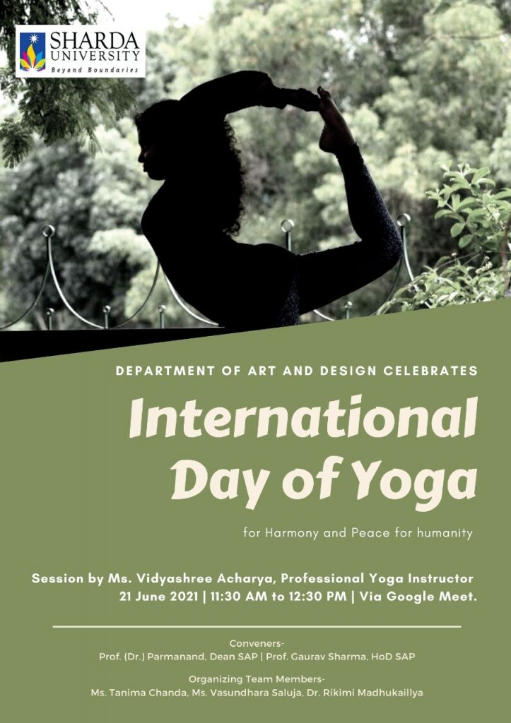 International Day of Yoga for Harmony & Peace for Humanity @ virtual